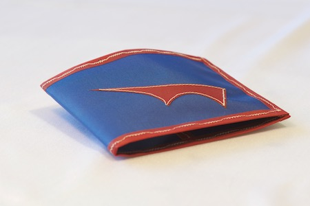 PointyWallet-Spendy-blue-RedTrim-folded