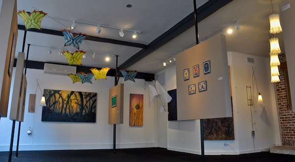 Art show, Bloom, by Tim Elverston and Ruth Whiting